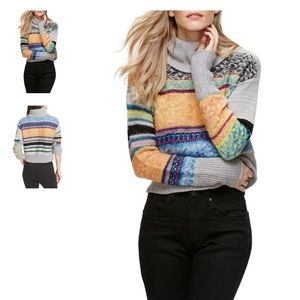 Free People This & That Mix Stitch Sweater